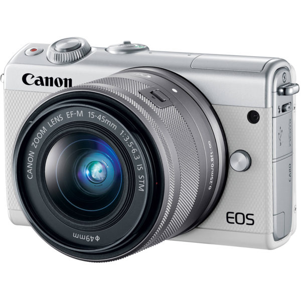 CANON EOS M100 + EF -15-45MM IS STM