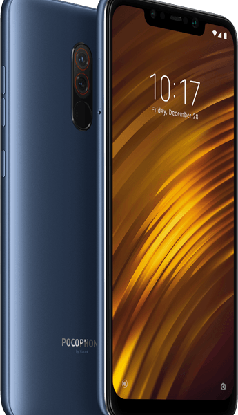 Xiaomi Pocophone F1 6Gb/64Gb Steel Blue