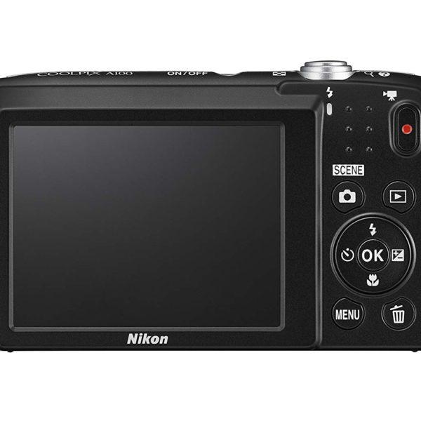 Nikon Coolpix A100 Silver + Estuche + Selfie Stick