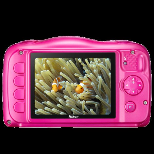 Nikon Coolpix W100 Pink + Mochila