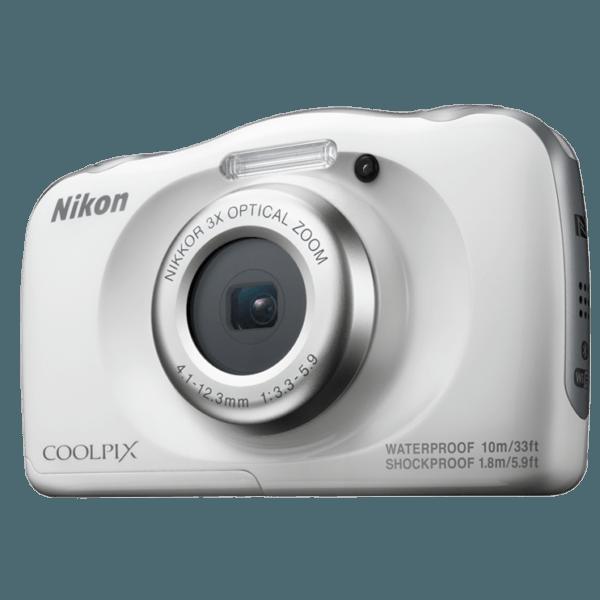 Nikon Coolpix W100 Blanca + Mochila