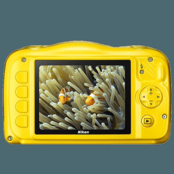 Nikon Coolpix W100 Amarilla + Mochila
