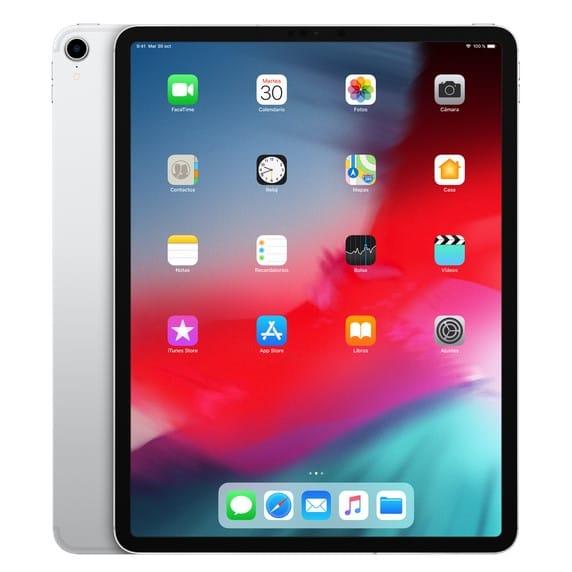 iPad PRO 12.9 2018 64Gb WiFi – Plateado