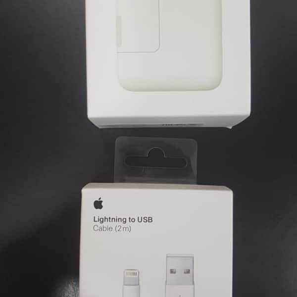 Cargador Apple 12w + cable lightning Apple